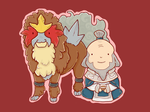 Entei and Iroh by awaicu
