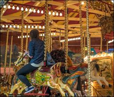 On the Gallopers by sags