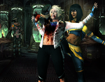 MKX - Tanya VS Cassie - Heel to the Heart by SovietMentality