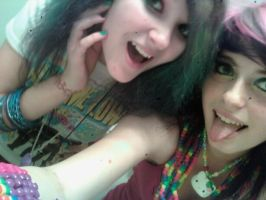 me and my rave kitty c: by sailormoon23