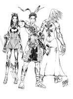 Vagrant Story by KRETTLLI