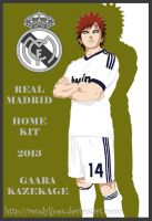 Gaara Real Madrid Home Kit 2012 - 2013 by RendyLJoex