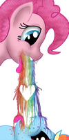 Smell the Pinkie Pie, Taste the Pinkie Pie by Super-Zombie