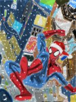 A Spider-Man Christmas by homer311