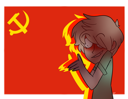 I'M NOT A FRICKIN COMMIE by SaltWaterDreams