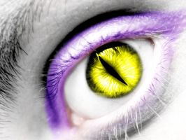 Orochimaru eye by FreyaBigg