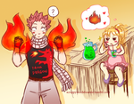 Nalu fluff week prompt 6: Pregnancy by Misuru