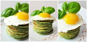 spinach pancakes by FiorOf
