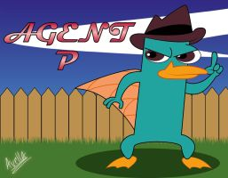 Perry the platypus by avellante
