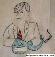 British People With Tentacles - Stephen Fry by berlynnwohl