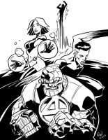 Fantastic Four - CAA by EryckWebbGraphics
