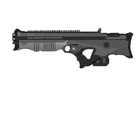 Generic Bullpup Rifle. by Spatzik