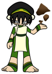 Avatar: The Last Airbender - MINI Toph Beifong by Rainheart94