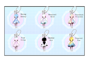 [OPEN 2/6] [LOWERED PRICE] Pluggling Set 2 by ghosty-doll-adopts