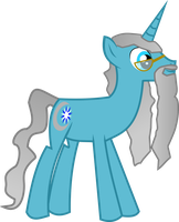 Hatless Capeless Pony Dumbledore by asdflove