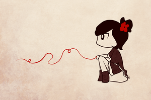 that red string of fate by Esme123