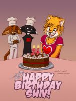 Happy Birthday Shiv by funkyalien
