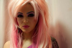 JEM AND THE HOLOGRAMS , BARBIE , COSPLAY , DOLL 4 by XNBcreative