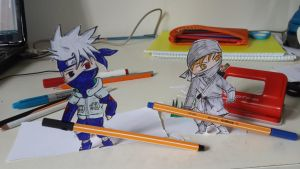 Kakashi The Color Thief by orionbbb