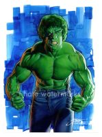 TV Incredible Hulk/Ferrigno by SteveStanleyArt
