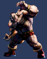 MvC2 Zangief by joverine