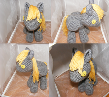 Derpy Hooves Filly by Crowchet