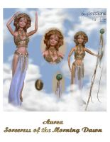 Aurea, Sorceress of the Dawn by ReflectionsByIce