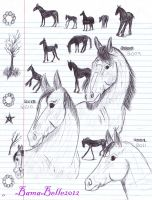 Three Mares by BamaBelle2012