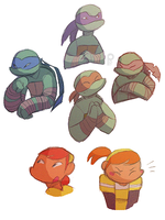 Style Turtles and April by ceece-45