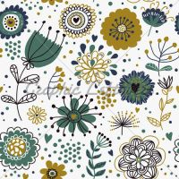 Summer Floral Seamless Pattern by totoybibo2