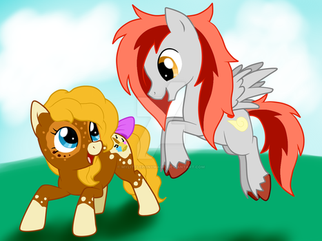 Painted Bell and Billy Stilly by MyLittlePonyMagic
