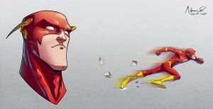 The Fastest Man Alive by AdamMasterman