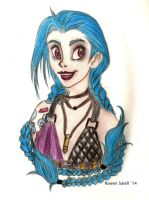 Jinx the Loose Cannon by RowenSatell