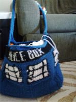 TARDIS bag by supersinger6