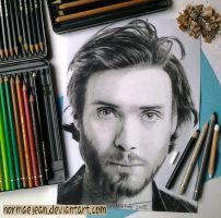 Normaearts portray Cillian Murphy by NormaeJean