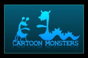 Cartoon Monsters by disgust-charm