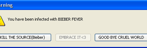 Bieber Fever by LunaticLullaby