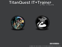TitanQuest IT and Trainer PNG by 3xhumed