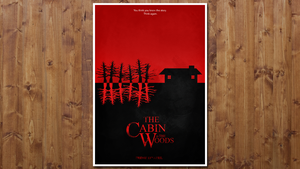 The Cabin in the Woods - Minimalist by JSWoodhams