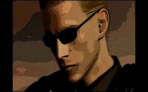Wesker in darkside chronicles by monkeygigabuster