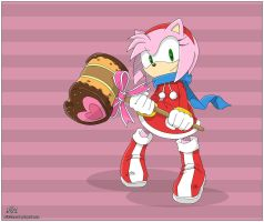 Amy Rose by AkiDIDmorning