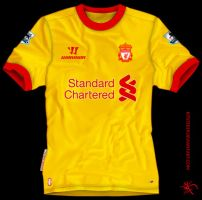 Liverpool Away Warrior 2012 by kitster29