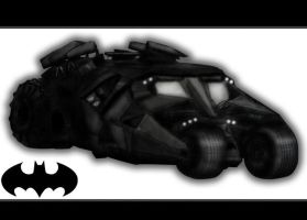 Batmobile by nioor