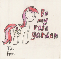 Roseluck Valentines Day Card by Sirairial
