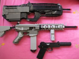 My Lego Replica Armoury by N3V37S