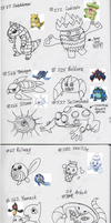 Pokemon By Memory 2 by AnimeFan4Eternity23