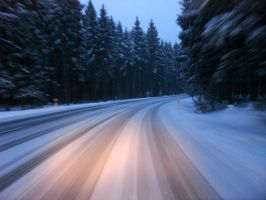 Snowy Roads 6882916 by StockProject1