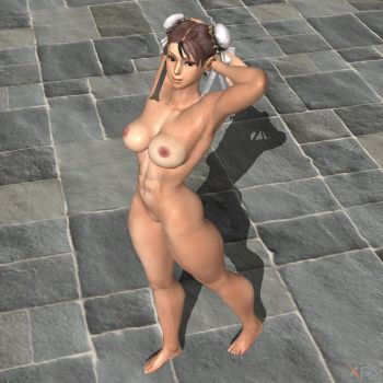 She did chunli naked still