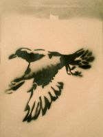 Bird Stencil 1 by innocuous-me