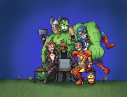 The Avengers - 2012 by Ericmaniac